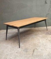 table-industrielle-sur-mesure-tolix-vintage-bois-metal-5francs-1
