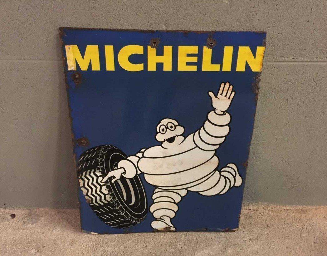 ancienne-plaque-michelin-emaillee-double-face-vintage-garage-5francs-5
