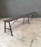 banc-ancien-bois-metal-rivete-jardin-5francs-1
