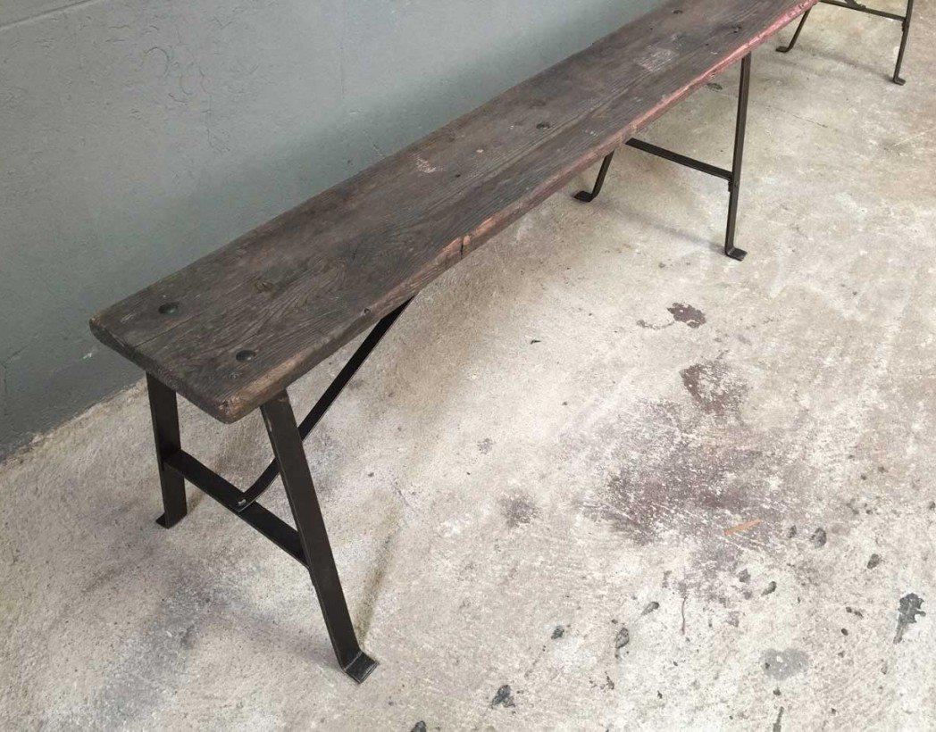 banc-ancien-bois-metal-rivete-jardin-5francs-3