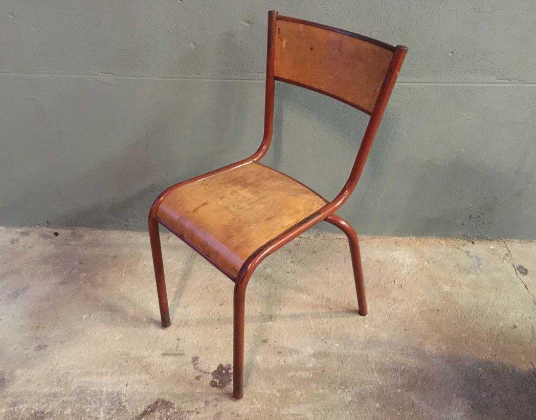 ensemble-4-chaises-ecole-vintage-rouge-mullca-5francs-3