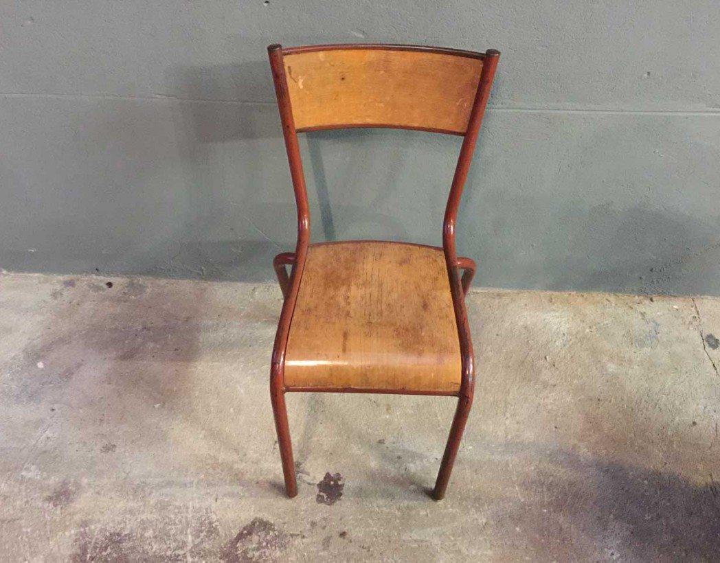 ensemble-4-chaises-ecole-vintage-rouge-mullca-5francs-5