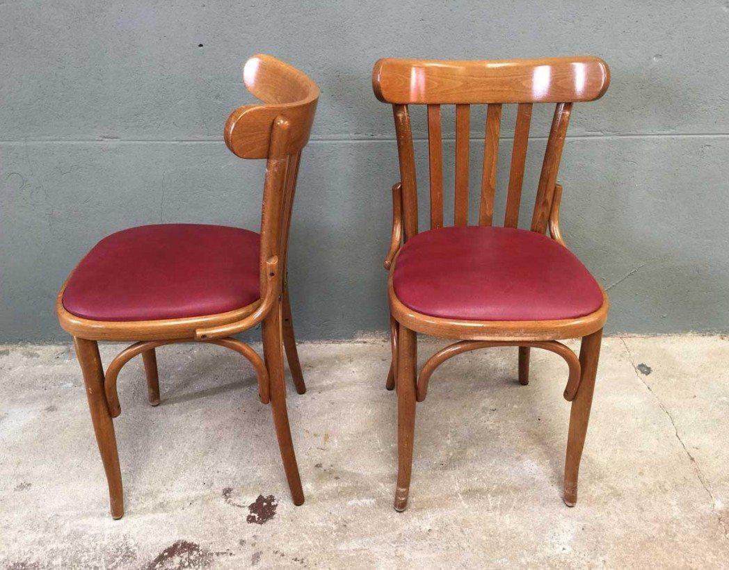Ensemble 22 chaises bistrot style baumann for Chaise bistrot baumann prix