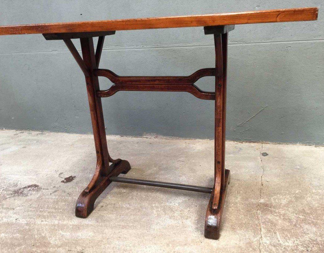 table bistrot ancienne vintage bois retro 5francs 4 1048x820 28 Merveilleux Table Bistrot Rectangulaire Bois Xzw1