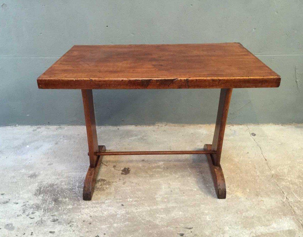 table bistrot bois ancienne 5francs 4 1048x820 28 Merveilleux Table Bistrot Rectangulaire Bois Xzw1
