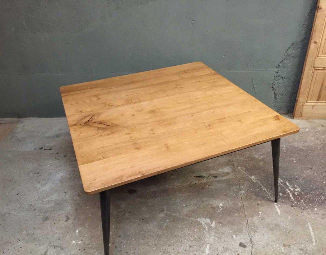 table-industrielle-caree-tolix-bois-metal-creation-5francs-4