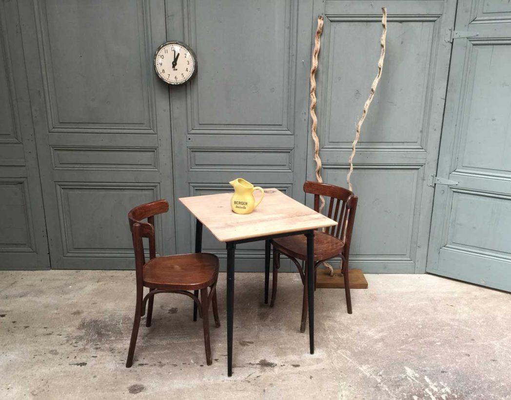 Chaise bistrot ancienne baumann simple style chaise - Chaise bistrot ancienne baumann ...