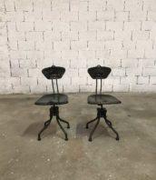 chaise flambo atelier design industriel 5francs 1 172x198 - Véritable chaises Flambo 1930 vert et kaki