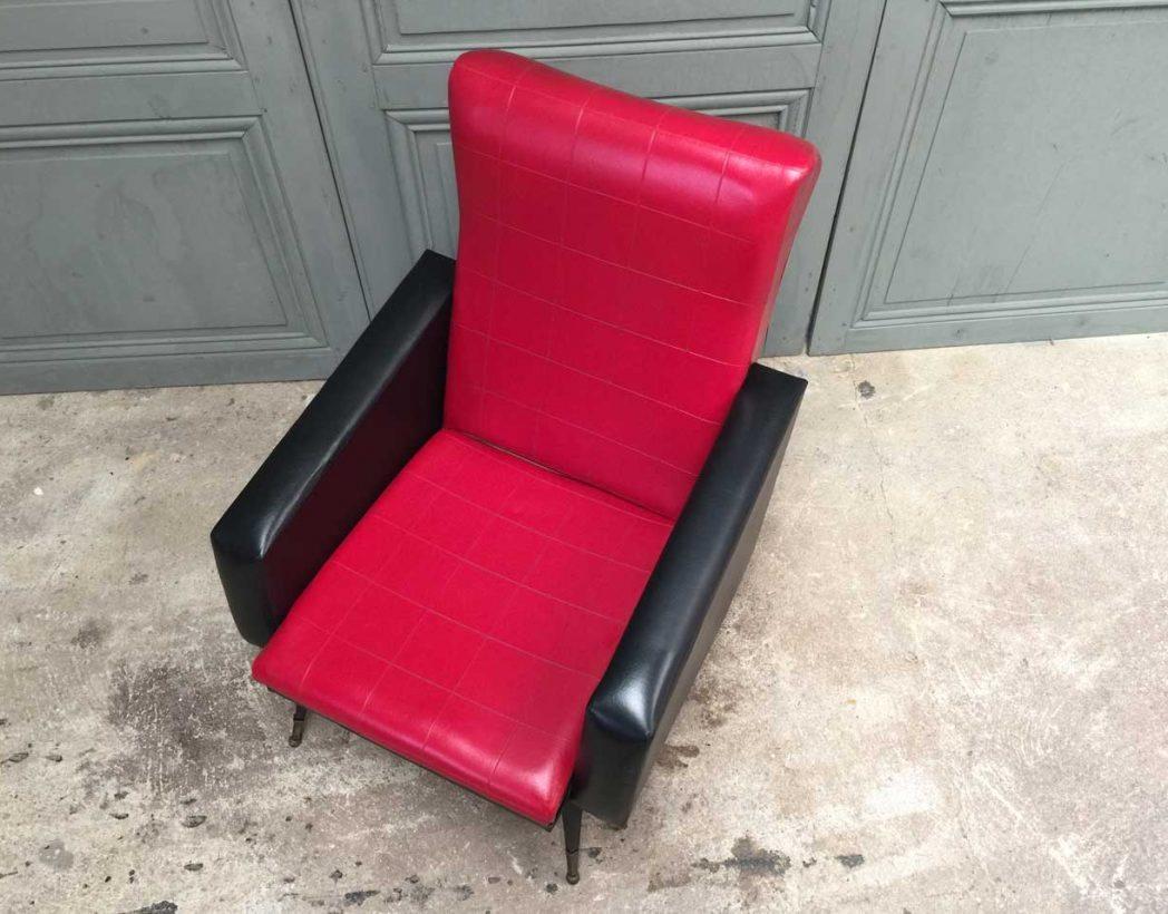 fauteuil-vintage-retro-rouge-et-noir-5francs-3