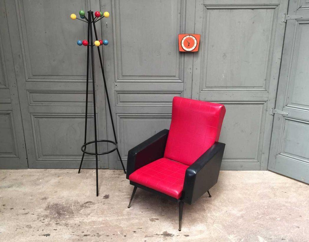fauteuil-vintage-retro-rouge-et-noir-5francs-8