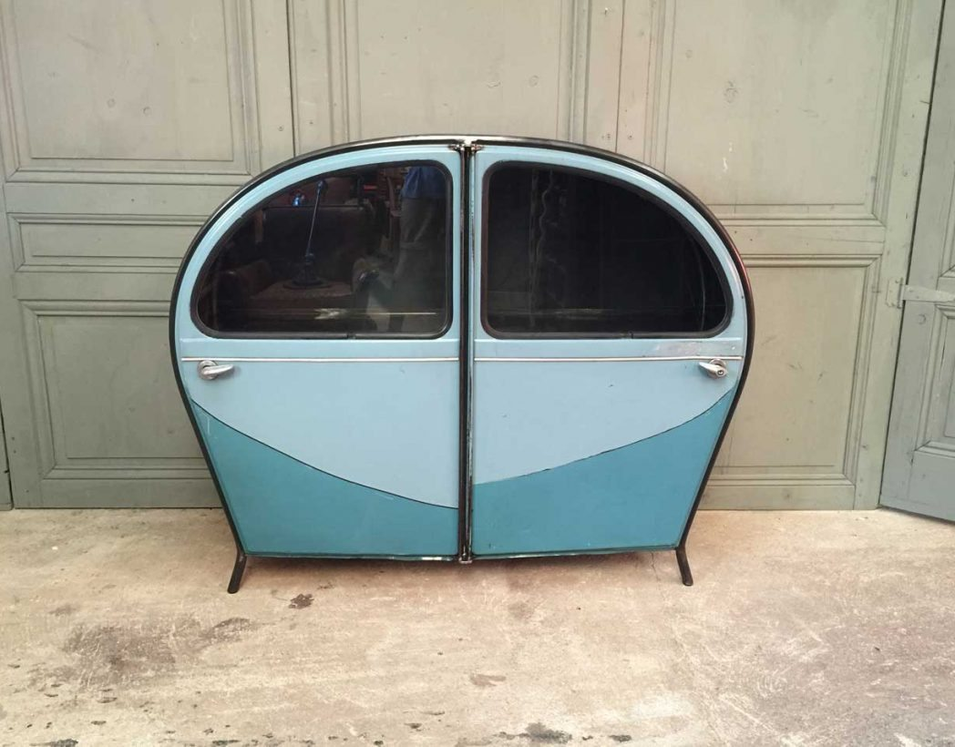 meuble 2cv cr ation by 5francs. Black Bedroom Furniture Sets. Home Design Ideas