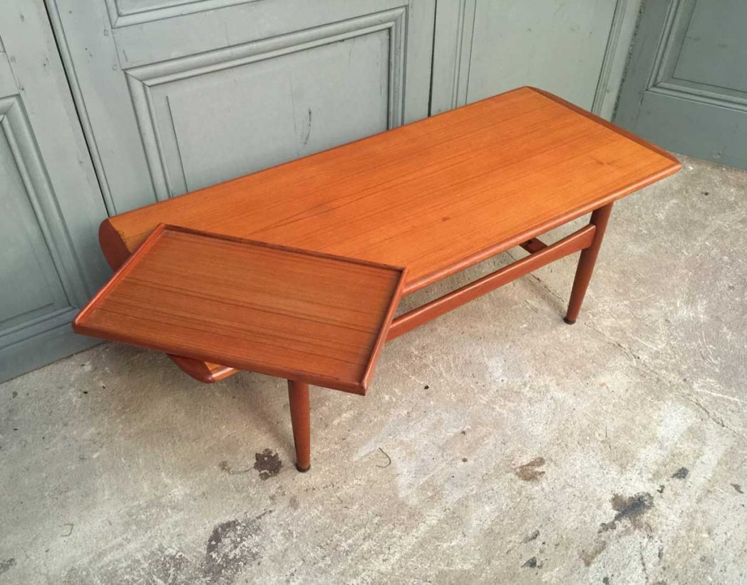 Table basse style scandinave for Table basse scandinave fer
