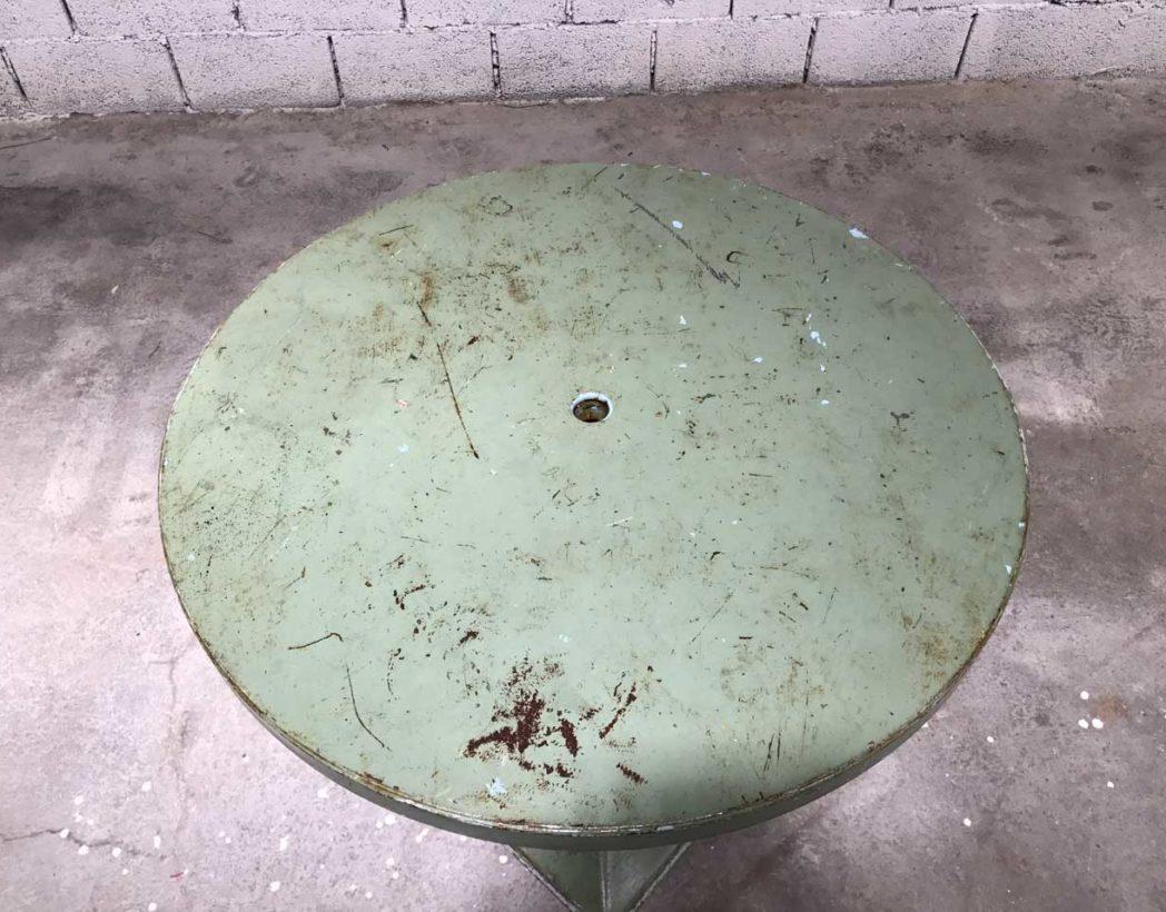 table-tolix-kub-vert-eau-ronde-metal-xavier-pauchard-5francs-3