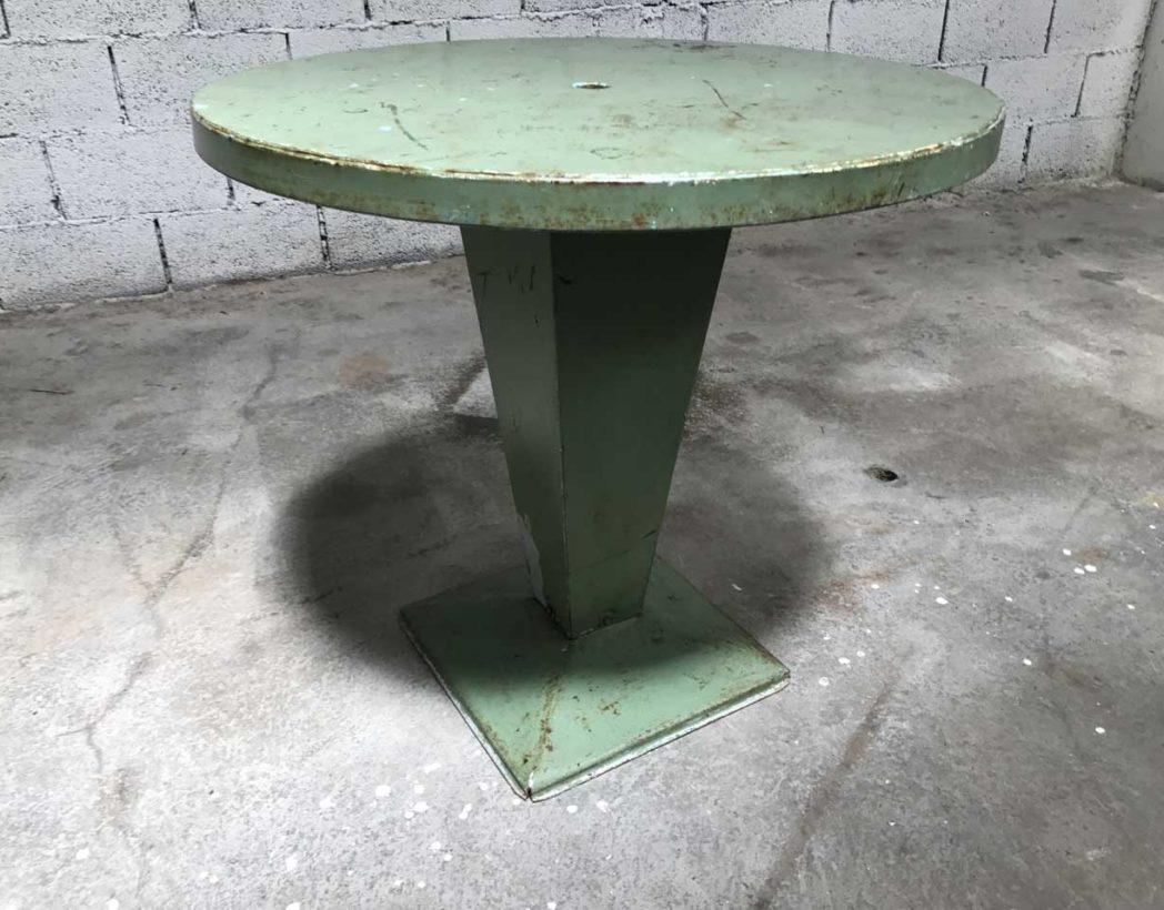 table-tolix-kub-vert-eau-ronde-metal-xavier-pauchard-5francs-6