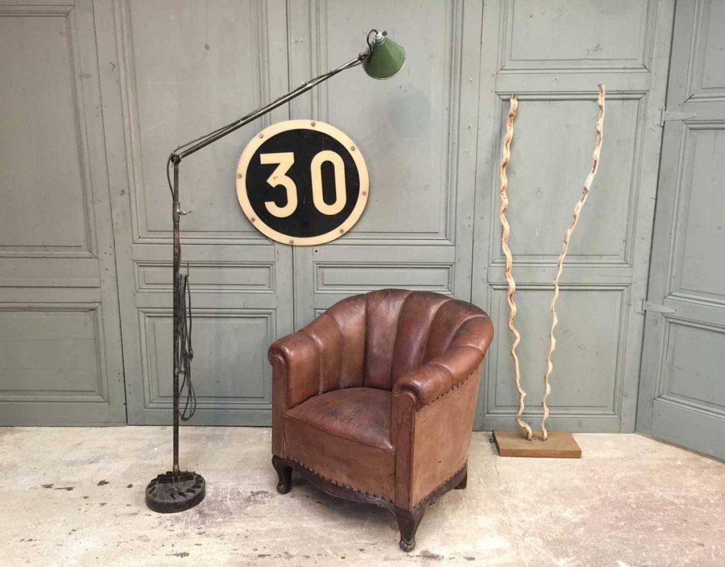 fauteuil-club-cuir-annee-30-pattes-de-lion-5francs-10