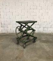 table elevatrice ancienne garage patine verte 5francs 1 172x198 - Ancienne table élévatrice de garage patine d'origine verte