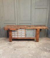 ancien-etabli-bois-menuisier-console-buffet-5francs-1
