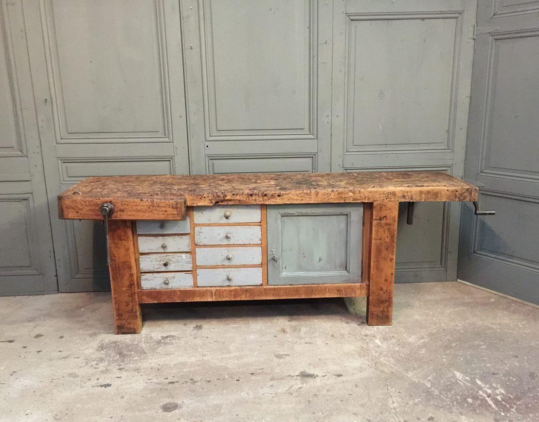 ancien-etabli-bois-menuisier-console-buffet-5francs-2