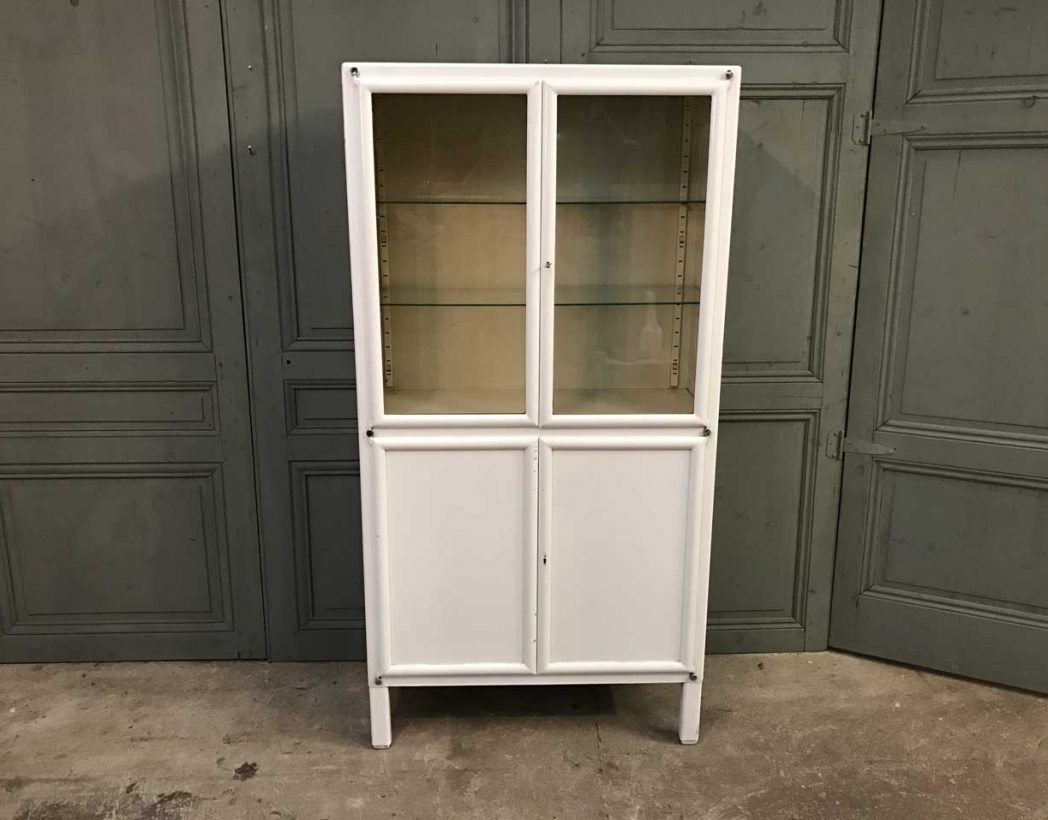 ancienne-vitrine-dentiste-blanc-metal-mobilier-industriel-5francs-2