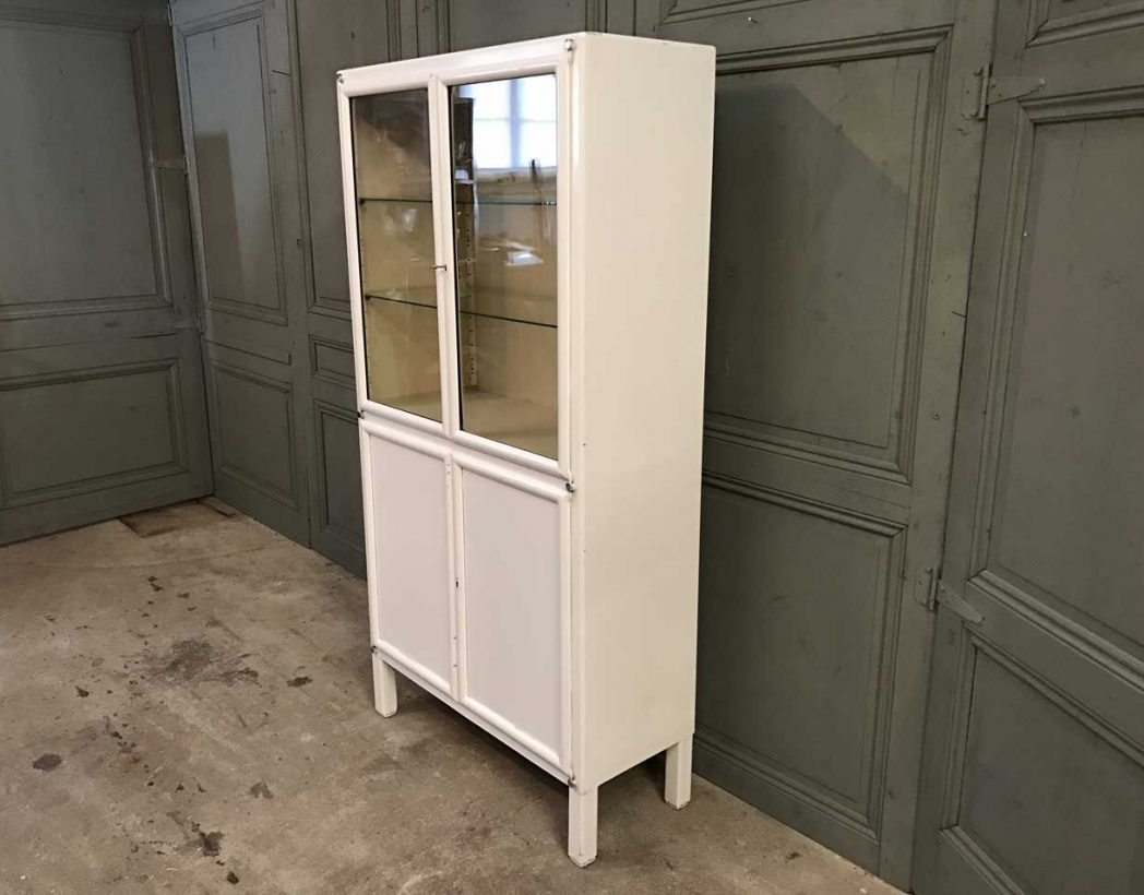 ancienne-vitrine-dentiste-blanc-metal-mobilier-industriel-5francs-3
