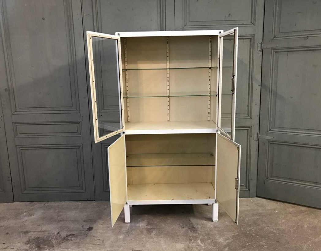 ancienne-vitrine-dentiste-blanc-metal-mobilier-industriel-5francs-6