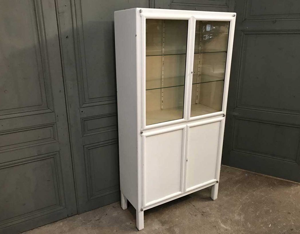 ancienne-vitrine-dentiste-blanc-metal-mobilier-industriel-5francs-7