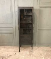 ancienne-vitrine-dentiste-metal-mobilier-industriel-5francs-1