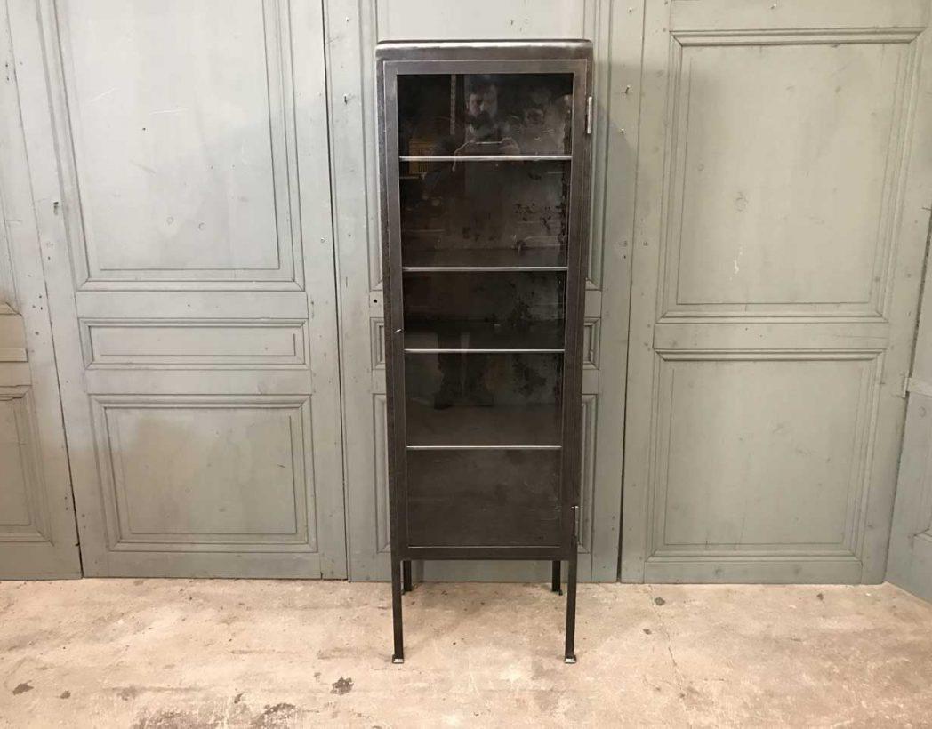 ancienne-vitrine-dentiste-metal-mobilier-industriel-5francs-2