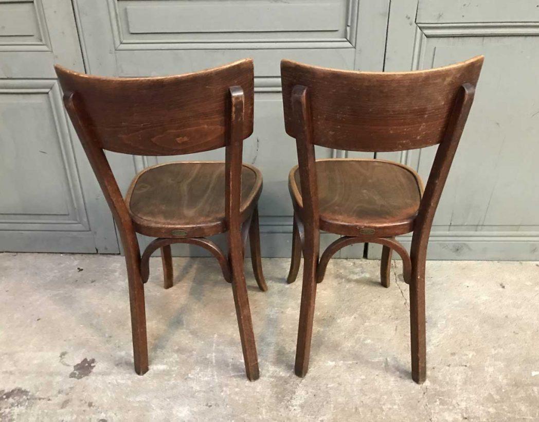 ensemble 13 chaises bistrot baumann. Black Bedroom Furniture Sets. Home Design Ideas