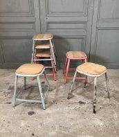 ensemble-tabouret-ecole-patine-5francs-1