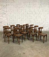 lot 19 chaises baumann bar bistrot ancienne 5francs 1 172x198 - Ensemble 19 chaises bistrot Baumann