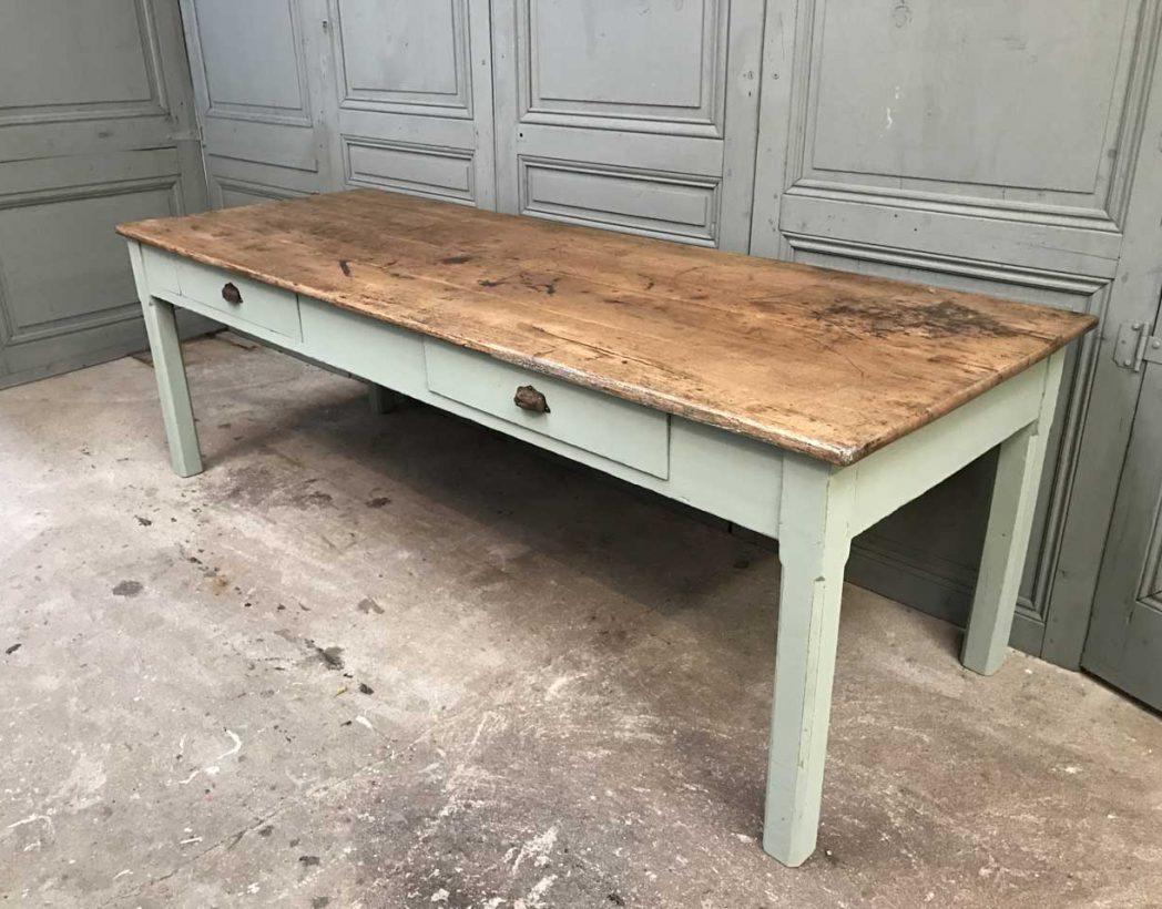 amazing table ancienne de ferme 2 table de ferme battage normande chene ancienne ameublement. Black Bedroom Furniture Sets. Home Design Ideas
