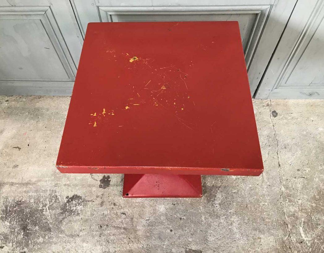 table-tolix-kub-rouge-vintage-5francs-5
