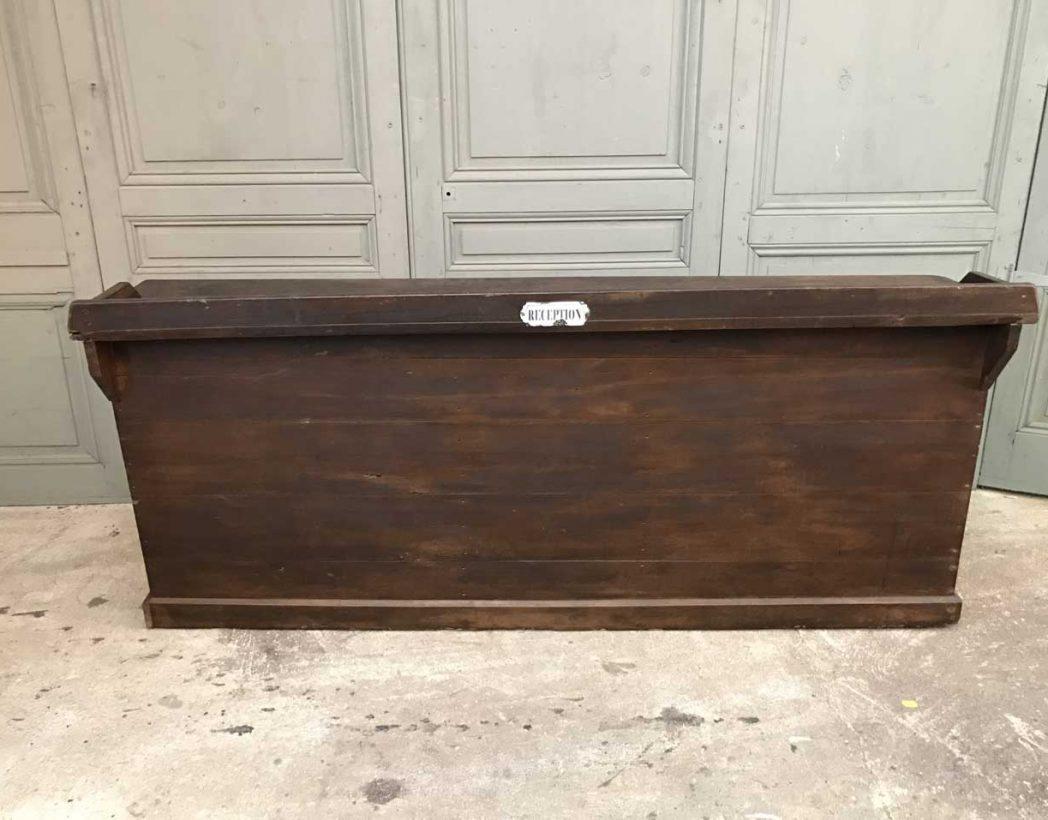 Ancienne banque de r ception d 39 hotel for Comptoir du meuble bruxelles