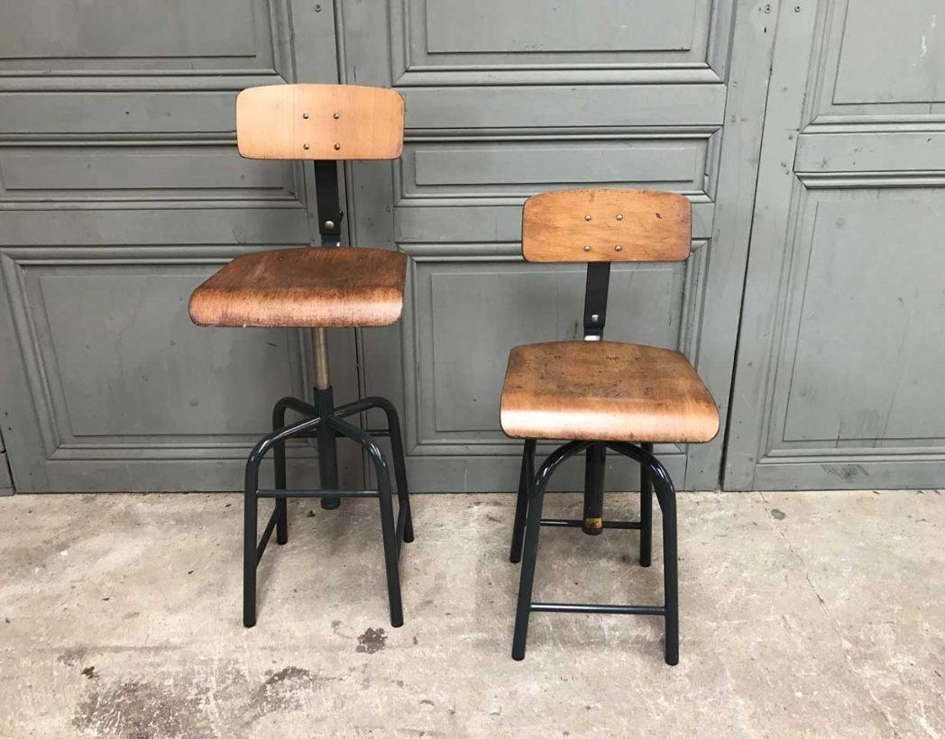 ensemble de 5 chaises d 39 atelier bao. Black Bedroom Furniture Sets. Home Design Ideas