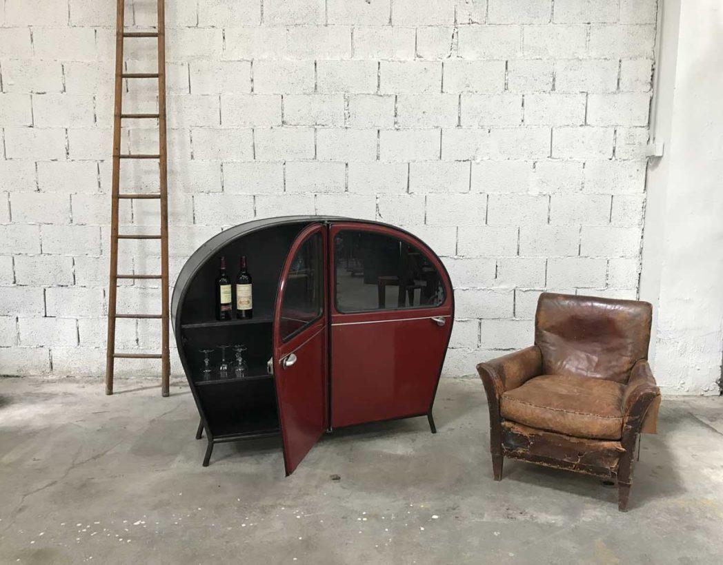 meuble-buffet-porte-2cv-citroen-bordeaux-vintage-retro-5francs-10