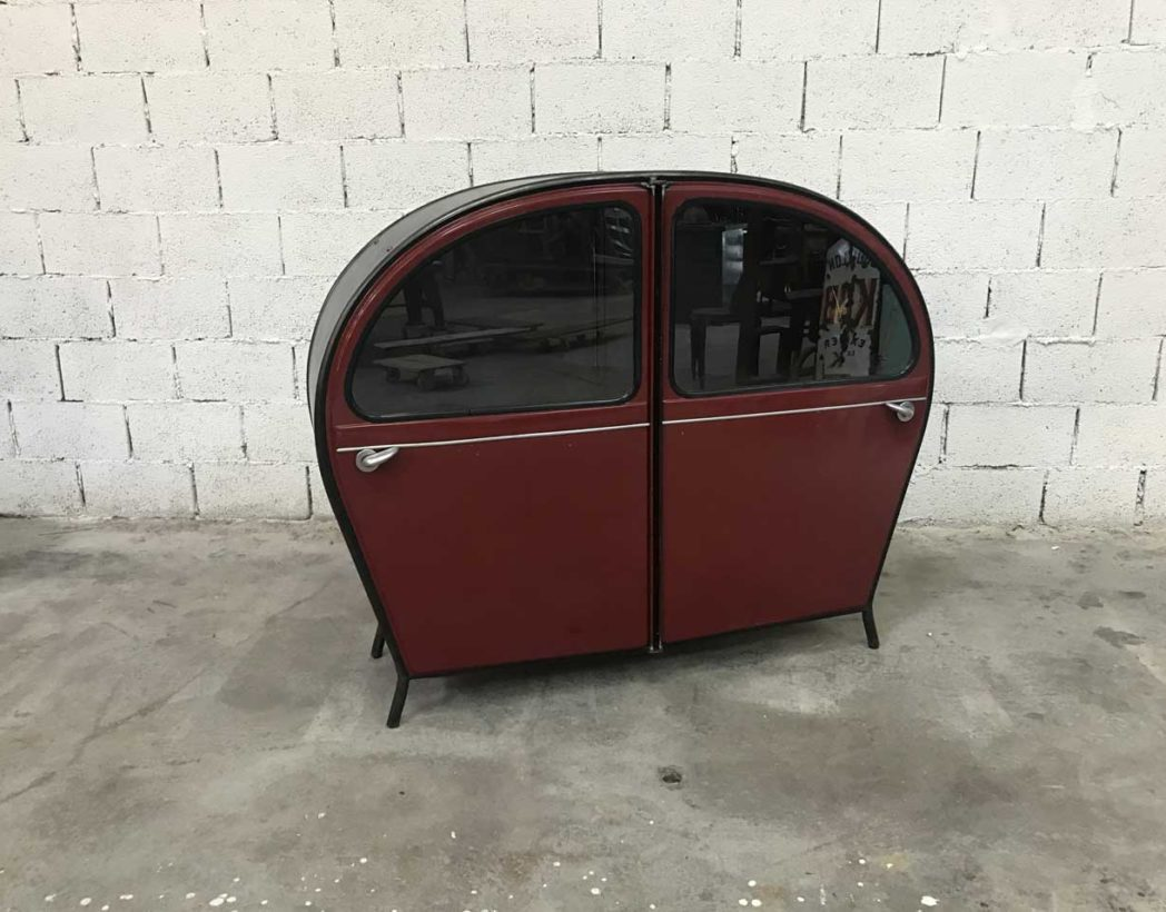 meuble-buffet-porte-2cv-citroen-bordeaux-vintage-retro-5francs-2