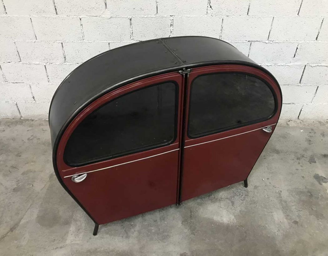 meuble-buffet-porte-2cv-citroen-bordeaux-vintage-retro-5francs-3