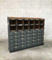 ancien-meuble-metier-garage-patine-gris-tiroirs-industriel-5francs-1