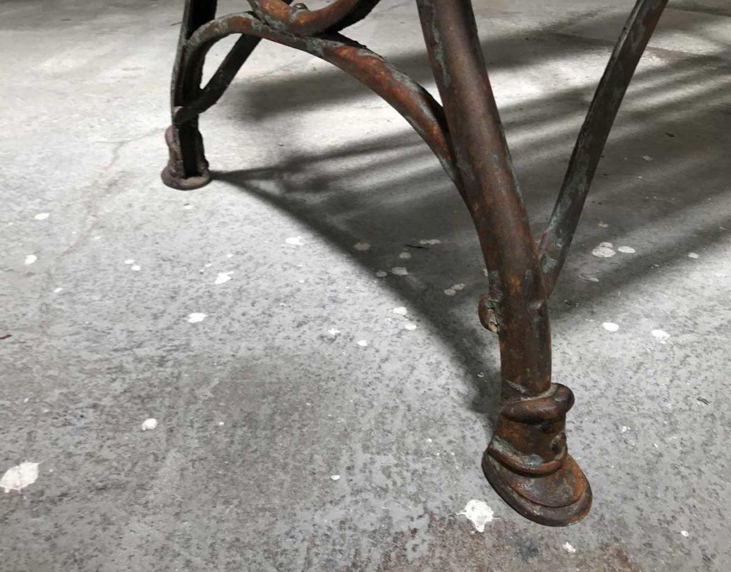 banc-jardin-bois-metal-1900-pieds-style-arras-patine-5francs-5