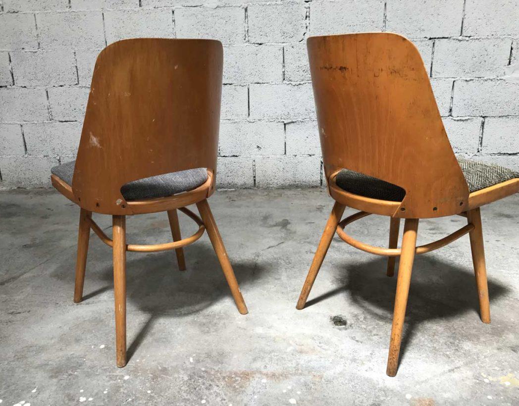 ensemble 7 chaises thonet cz design. Black Bedroom Furniture Sets. Home Design Ideas