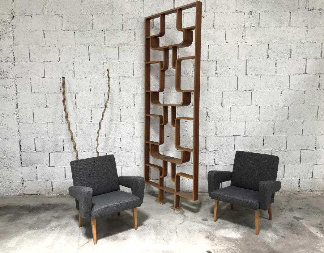 paire-fauteuil-vintage-navratil-expo-58-brussel-tissu-gris-chine-5francs-8