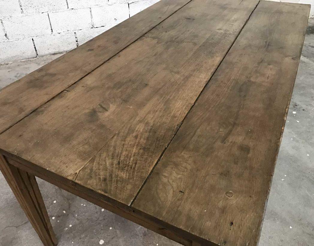 ancienne petit table de ferme en ch ne. Black Bedroom Furniture Sets. Home Design Ideas