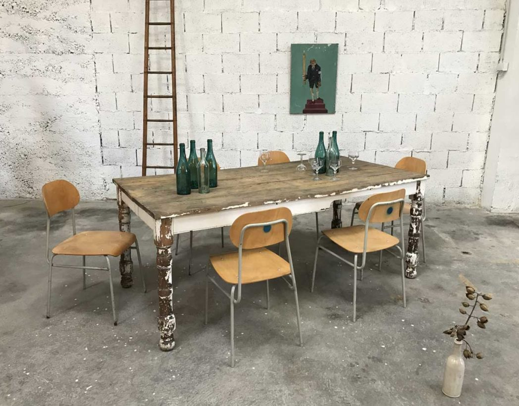 table-ferme-ancienne-chene-pied-tourne-patine-blanche-5francs-8