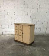 ancien meuble tiroirs garde manger patine 5francs 1 172x198 - Ancien garde manger 6 tiroirs en bois patine d'origine