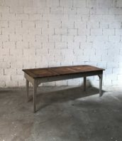 ancienne grand bureau ecole adulte bois 5francs 1 172x198 - Ancien grand bureau d'école en bois massif