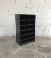 etagere industrielle roneo ancienne mobilier 5francs 1 172x198 - Ancien meuble étagère métal industrielle RONEO décapée