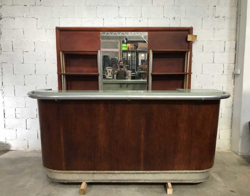 comptoir de caisse ancien comptoir ancien bois magasin boutique bar caisse clair tiroir with. Black Bedroom Furniture Sets. Home Design Ideas