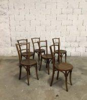 ensemble 6 chaises baumann assise ronde bistrot bar 5francs 1 172x198 - Ensemble de 6 chaises Baumann assise ronde 1930