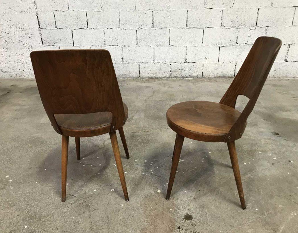 Ensemble 5 chaises bistrot baumann mod le mondor - Chaise bistrot ancienne baumann ...